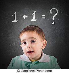 niet, eenvoudig, berekening, informatietechnologie