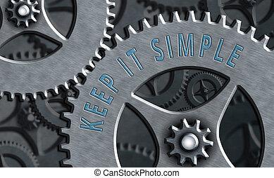 niet, schrijvende , gemakkelijk, bewaren, simple., iets, ...