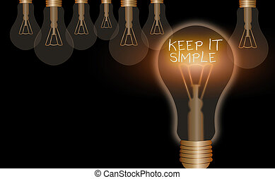 niet, schrijvende , hand, gemakkelijk, bewaren, simple., ...