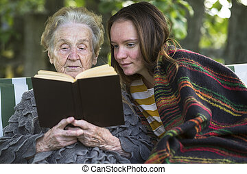 nieta, abuela