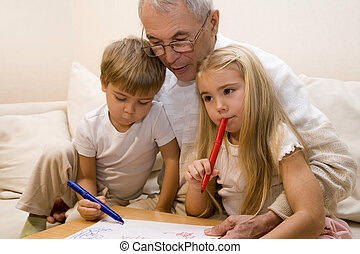 nietos, abuelito, el suyo