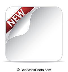 nieuw, artikel, meldingsbord