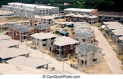 nieuw, bouwsector, woning