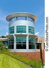 nieuw, commercieel gebouw