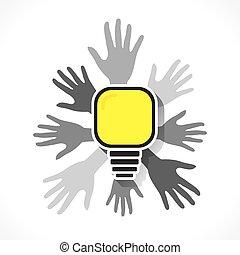 nieuw, conceptontwikkeling, idee