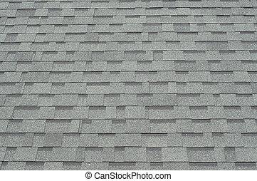 nieuw, dak, tiles.