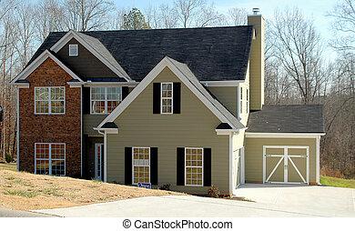 nieuw huis, te koop