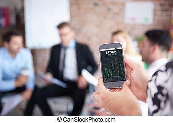 nieuw, informaties, over, beursmarkt, en, verwisselen