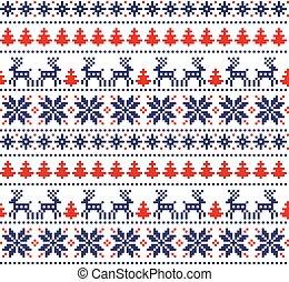 nieuw jaar, pixel, kerstmis, model