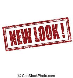 nieuw, look!-stamp