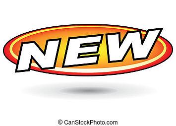 nieuw, ontwerp, pictogram