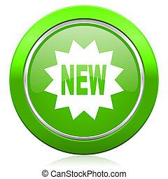 nieuw, pictogram