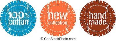 nieuw, postzegels, verzameling