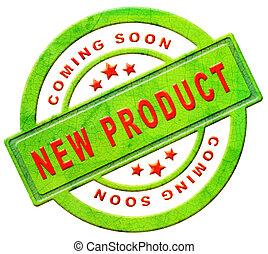 nieuw product, spoedig, komst
