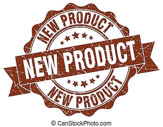 nieuw product, stamp., teken., zeehondje