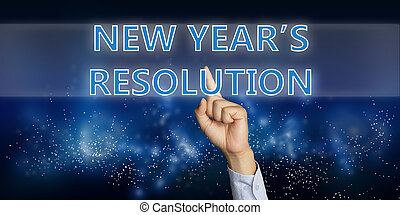 nieuw, resolutie, jaren