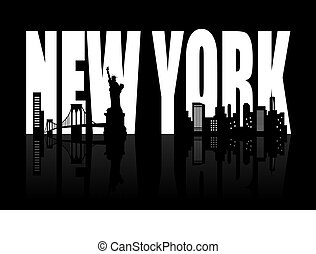 nieuw, skyline, york