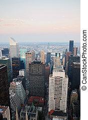 nieuw, stad, manhattan, york