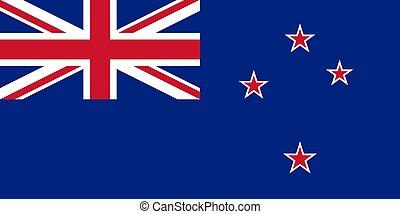 nieuw, vlag, zeeland, nationale