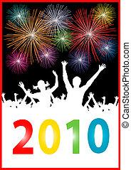 nieuw, vrolijke , 2010, jaar
