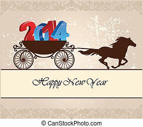 nieuw, vrolijke , 2014, jaar