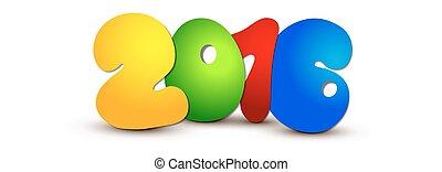 nieuw, vrolijke , 2016., jaar