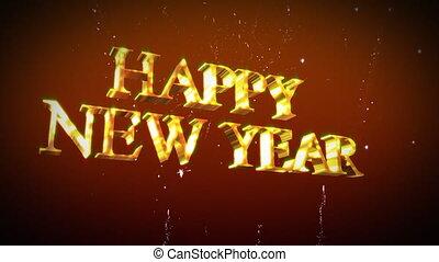 nieuw, vrolijke , jaar
