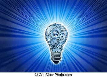 nieuwe ideeën, werkende
