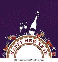 nieuwe jaren, viering