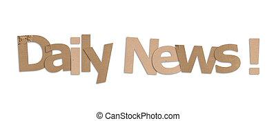nieuws, alledaags