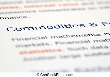 nieuws, documentatie, financieel