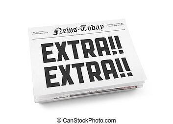 nieuws, vandaag, extra