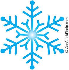 nieve, icono