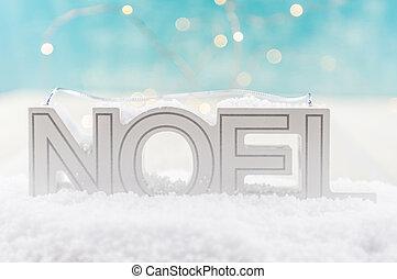 nieve, noel
