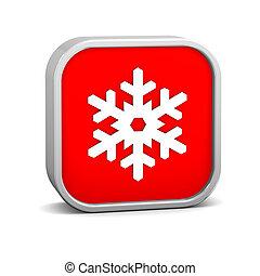 nieve, señal