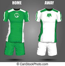 nigéria, futball, mez