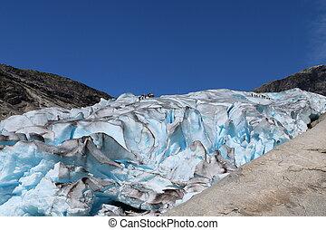 Nigardsbreen glacier in Norway