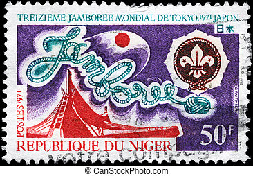 NIGER - CIRCA 1971 Jamboree