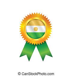 Niger medal flag