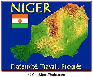 niger, motto