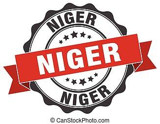Niger round ribbon seal