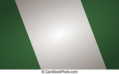 nigeria flag angle shape.