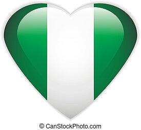 Nigeria flag button.