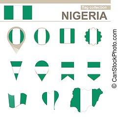 Nigeria Flag Collection