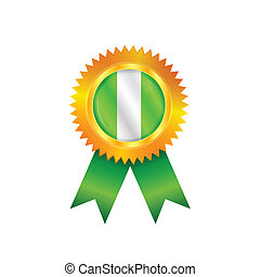 Nigeria medal flag