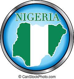 Nigeria Round Button