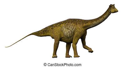 Nigersaurus Side Profile