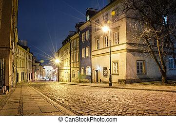 night., 町, 古い