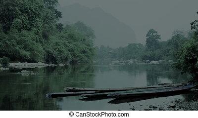 Night at Mekong River