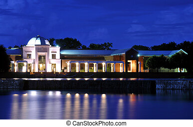 The Montgomery Museum of Fine Arts located at the Blount Park in Montgomery, Alabama.